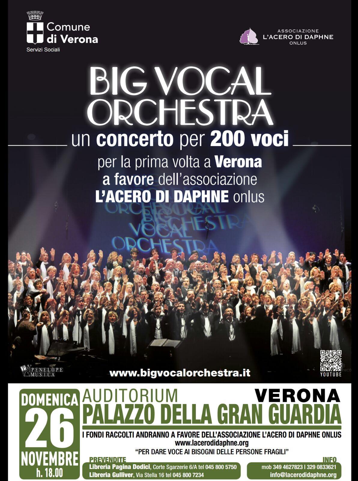 Big Vocal Orchestra per L'Acero di Daphne